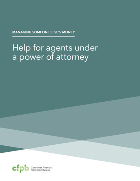 Help for agents under a power of attorney