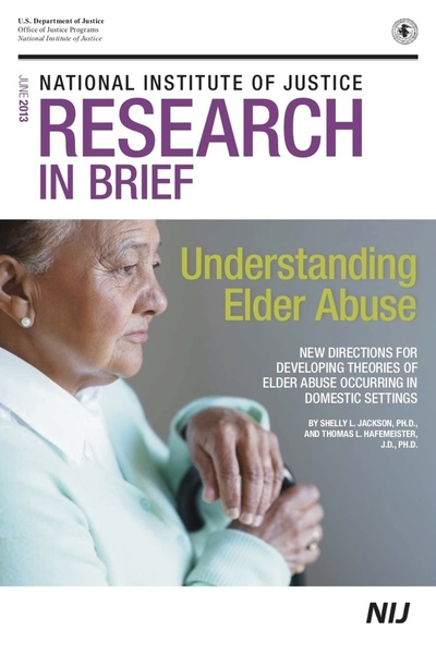 Understanding Elder Abuse